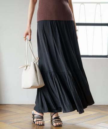 Loungedress(ラウンジドレス) カッセンマキシスカート