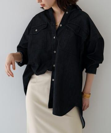 Loungedress(ラウンジドレス) デニムシャツ