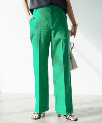 Loungedress(ラウンジドレス) カラーワークパンツ