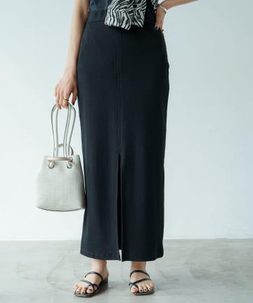 Loungedress(ラウンジドレス) カットタイトスカート