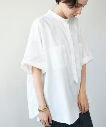 GALLARDAGALANTE(ガリャルダガランテ) ハーフスリーブビッグシャツ