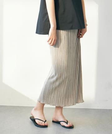 GALLARDAGALANTE(ガリャルダガランテ) プリーツタイトスカート