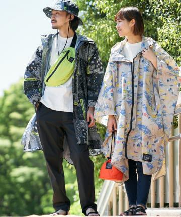 CIAOPANIC TYPY(チャオパニックティピー) 【KiU/キウ】NEW STANDARD RAIN PONCHO
