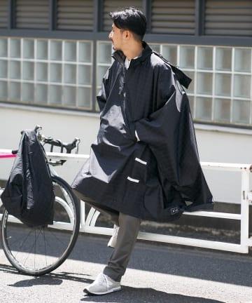 CIAOPANIC TYPY(チャオパニックティピー) 【KiU/キウ】BICYCLE PONCHO TYPE.A