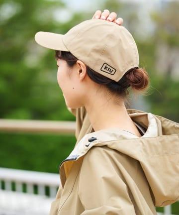 CIAOPANIC TYPY(チャオパニックティピー) 【KiU/キウ】6 PANEL CAP 3LAYER