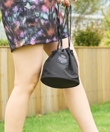 CIAOPANIC TYPY(チャオパニックティピー) 【KiU/キウ】300D DRAWSTRING BAG