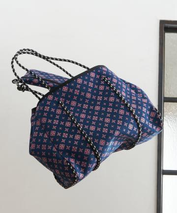 Daily russet(デイリー ラシット) ネオプレンロープトートバッグ