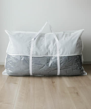 3COINS(スリーコインズ) 不織布布団収納バッグ【Lサイズ】