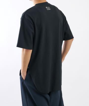 COLONY 2139(コロニー トゥーワンスリーナイン) BIGピスネームワッフル前後差半袖Tシャツ