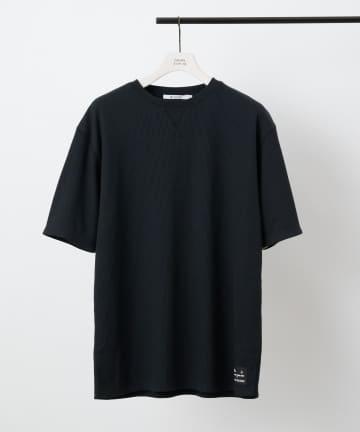 COLONY 2139(コロニー トゥーワンスリーナイン) BIGピスネームワッフルガゼット付き半袖Tシャツ