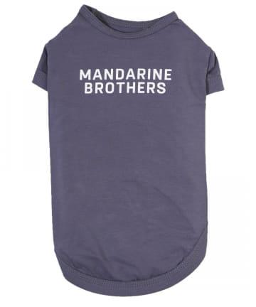 prose verse(プロズヴェール) 【MANDARINE BROTHERS】(S/M/L)ベーシッククールTシャツ