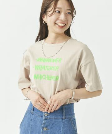 CPCM(シーピーシーエム) 手書き風ロゴ半袖T