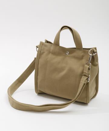 3COINS(スリーコインズ) 【小物ではじめる春の装い】コットンミニショルダーバッグ
