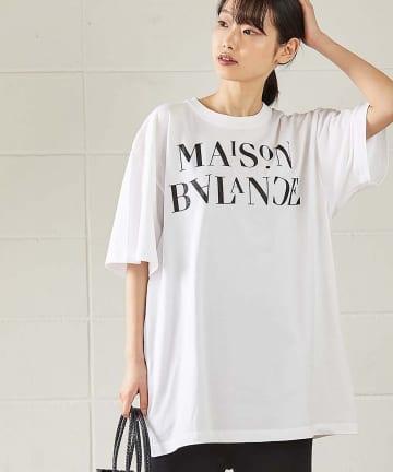 OUVRAGE CLASSE(ウヴラージュクラス) MAIISON BALANCE BIG Tシャツ