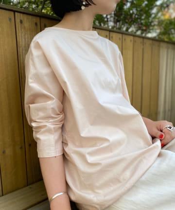 BEARDSLEY(ビアズリー) 《新色追加・EC限定》袖下ジャージーシャツTシャツ
