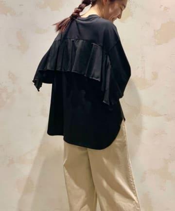 BEARDSLEY(ビアズリー) 後ろフリルTシャツ