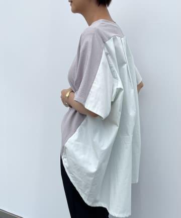 BEARDSLEY(ビアズリー) シャツコンビTシャツ
