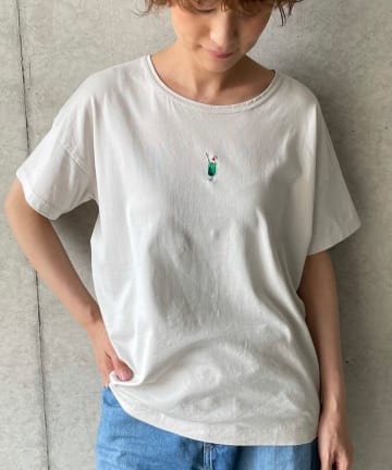BEARDSLEY(ビアズリー) 《予約》ソーダ刺繍Tシャツ