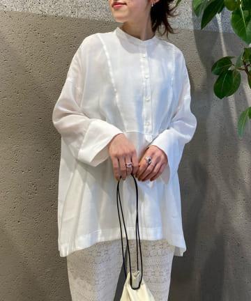 BONbazaar(ボンバザール) BIG切替ポンチョシャツ