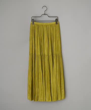 CIAOPANIC(チャオパニック) 2段プリーツロングスカート