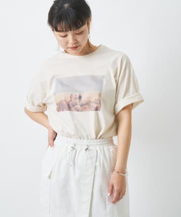 COLLAGE GALLARDAGALANTE(コラージュ ガリャルダガランテ) 【murmuring】フォトTシャツ