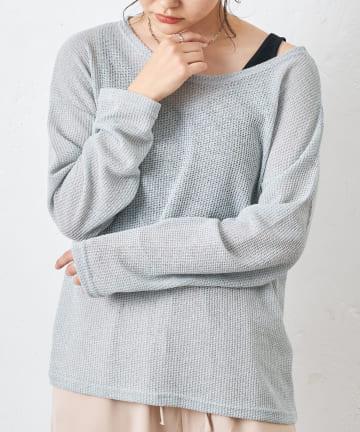 COLLAGE GALLARDAGALANTE(コラージュ ガリャルダガランテ) 【murmuring】ルーズニット