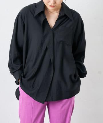 COLLAGE GALLARDAGALANTE(コラージュ ガリャルダガランテ) 【murmuring】オーバーシャツ