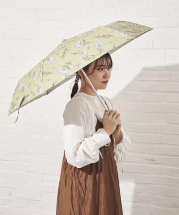 salut!(サリュ) 日傘折りフラワー(イエロー)