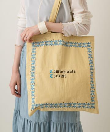 Kastane(カスタネ) Frame Stitch Eco Bag