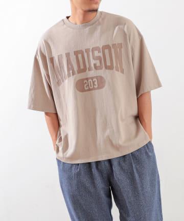 Discoat(ディスコート) MADISONロゴTシャツ
