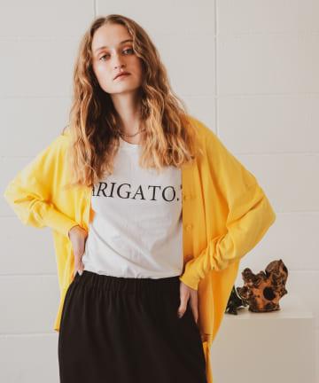 PLUS OTO.HA(プラス オトハ) ARIGAT Oロゴ GIRL Tシャツ