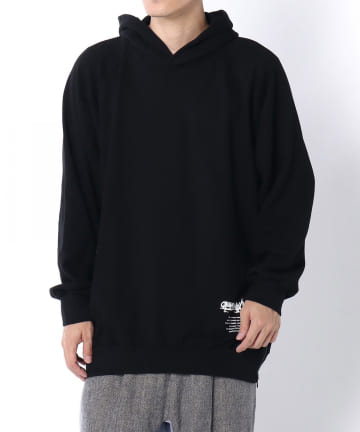 Lui's(ルイス) 【Ground Y】Upside Down Side Zipper Hoodie