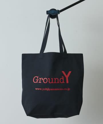 Lui's(ルイス) 【Ground Y】Logo Tote Bag