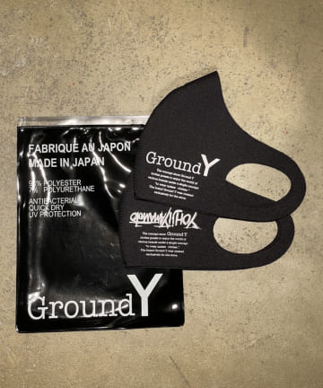 Lui's(ルイス) 【Ground Y】 2pack Logo Mask