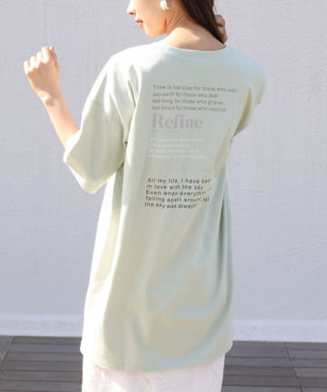one after another NICE CLAUP(ワンアフターアナザー ナイスクラップ) ビッグロゴTee