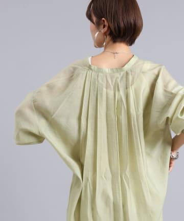 DOUDOU(ドゥドゥ) オーバーチュニックシャツ