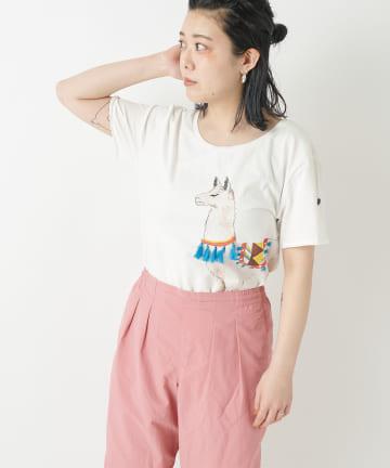 ear PAPILLONNER(イア パピヨネ) 【NACH(ナッシュ)】手洗い可・別注アニマルTシャツ