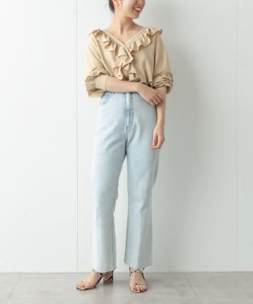 Omekashi(オメカシ) フリルシャツ