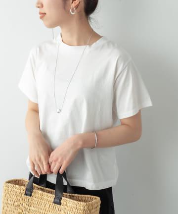 Omekashi(オメカシ) シルケットクルーTシャツ