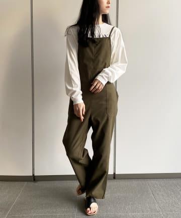 Loungedress(ラウンジドレス) 【+81BRANCA/ハチイチブランカ】オールインワン