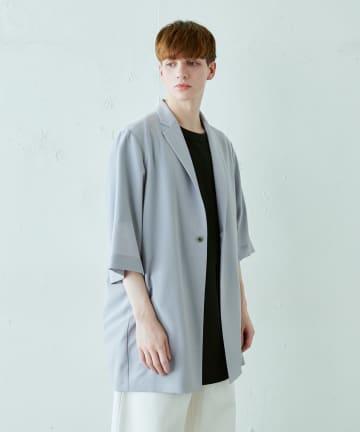 Lui's(ルイス) 8分袖ビッグジャケット