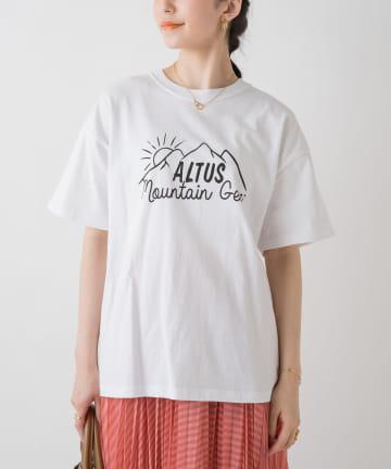 Loungedress(ラウンジドレス) 【+81BRANCA/ハチイチブランカ】ALTUS SUNRISE Tシャツ
