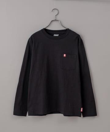 CIAOPANIC(チャオパニック) 【Coleman/コールマン】ワンポイントロゴクルーネックTシャツ