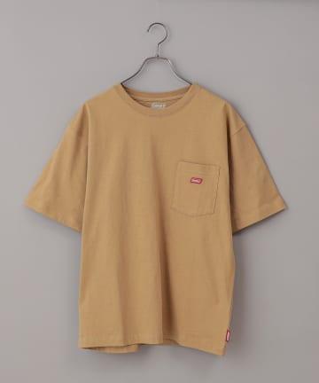 CIAOPANIC(チャオパニック) 【Coleman/コールマン】ワンポイントロゴクルーネック半袖Tシャツ