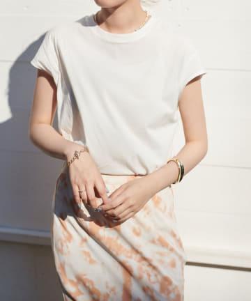 Discoat(ディスコート) ORGANICコットンノースリーブTシャツ