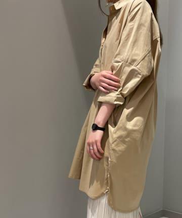 Pal collection(パルコレクション) 《リピ買い続出ゆったりキレイ》9分袖ストレッチシャツ