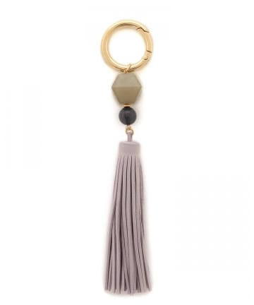 Pal collection(パルコレクション) 《Bag Charm》アクリルフリンジチャーム