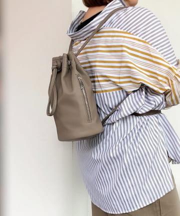 Pal collection(パルコレクション) 《きゅっと巾着がおしゃれ》ボディバッグ