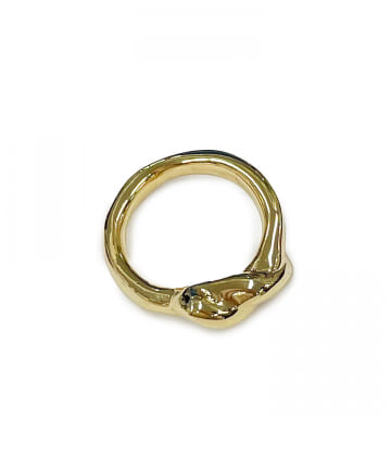 Lattice(ラティス) ツイストデザインメタルリング