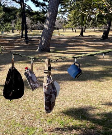 3COINS(スリーコインズ) 【揃えて本格アウトドア!】ハンギングロープ